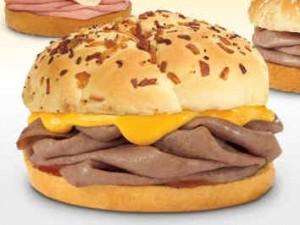 fast food sandwich