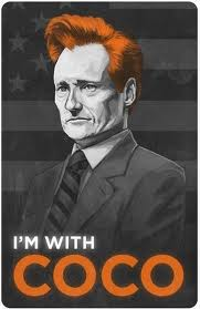i'm with coco, conan o'brien