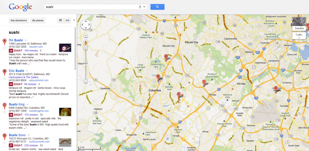 Current Gmaps.